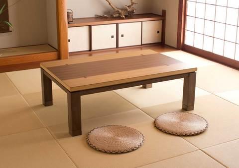 こたつテーブル長方形150 【しずく150】150cm幅 4-6人用