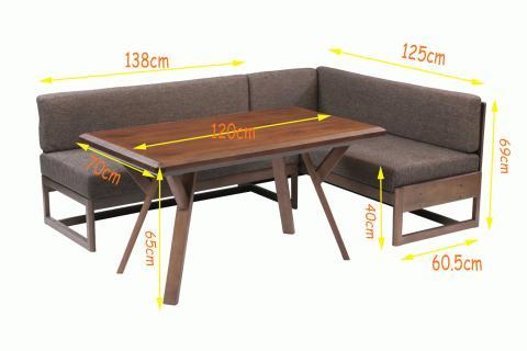 リビングダイニングこたつ・LDビートル120 こたつ機能付き4人用 (4点セット)Living_dining_table_LDbitele_saize.jpg