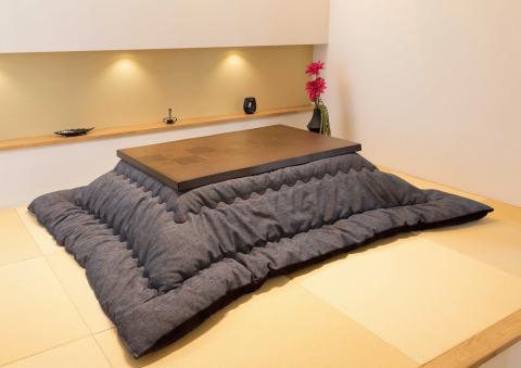 こたつテーブル  【伊吹120】120cm幅 長方形 4人用布団.jpg