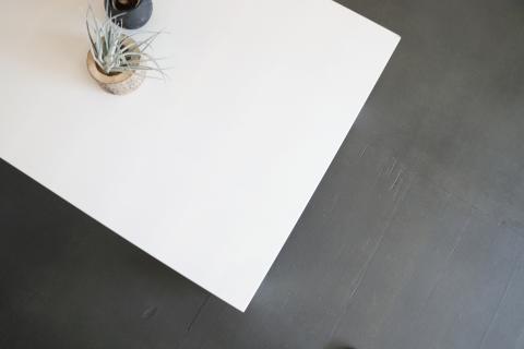 こたつ 白 鏡面【ジェシカ 135】 【外国製】ジェシカ 135 幅 4人用(鏡面加工仕上げ)